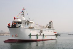 Research boat 25.5 M  Inspected By RS, Russian Maritime Auth